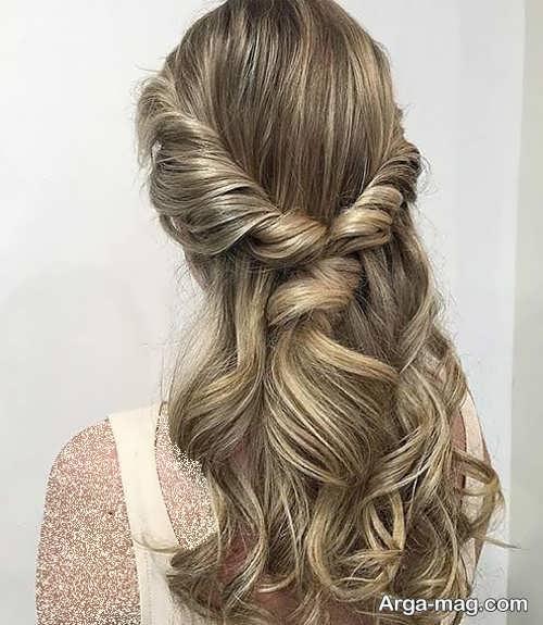 مدل موی زنانه مجلسی شیک و جذاب