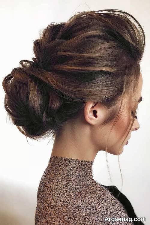 مدل موی زنانه مجلسی بسته