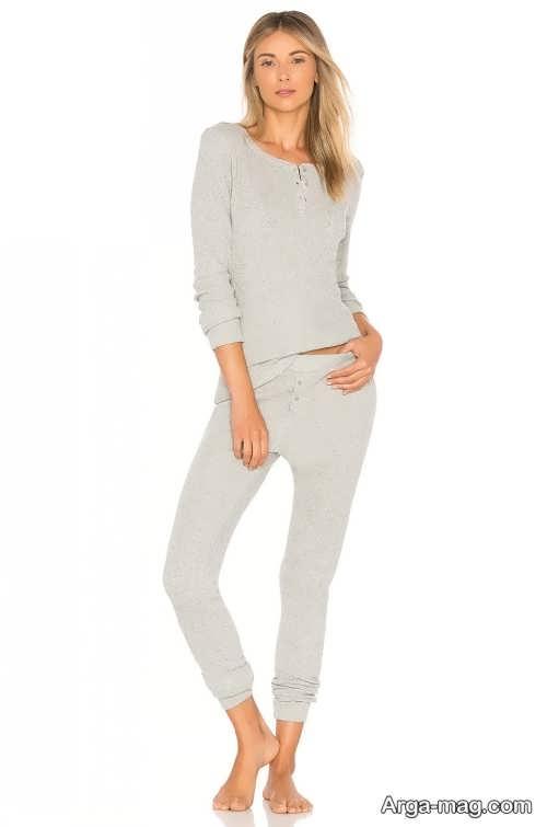 مدل لباس خانگی پوشیده و ساده