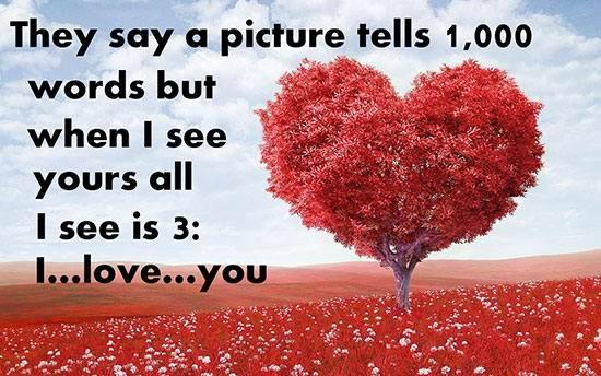 عکس نوشته قلب دار