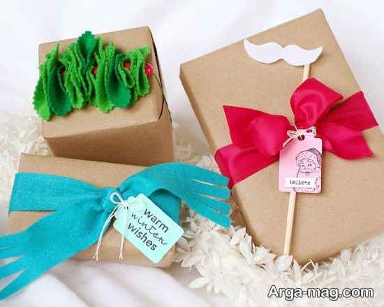 جعبه تزیین شده برای کادو