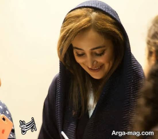 عکس های متفاوت بهاره افشاری در کنار آقای خواننده