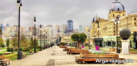 باکو شهر زیبای آذربایجان