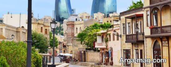مکان های دیدنی باکو کدام اند