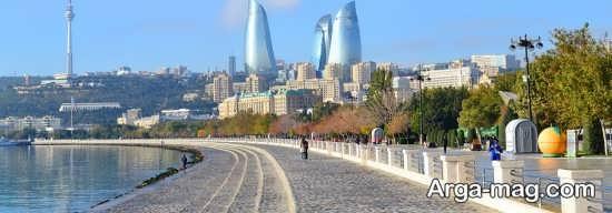 مکان های گردشگری باکو