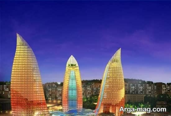 آسمان خراش های باکو