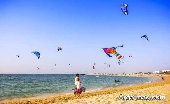 ساحل زیبای دبی