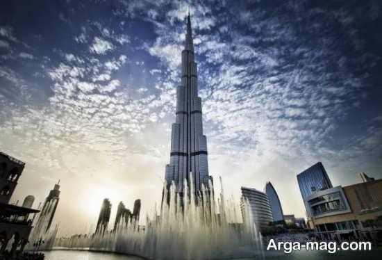 چشم انداز برج خلیفه دبی