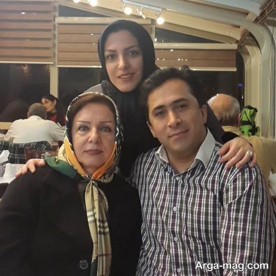 عکس های دونفره داود عابدی و همسرش
