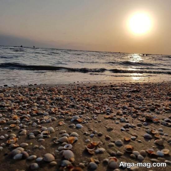 سواحل ماسه ای در شهر فریدونکنار