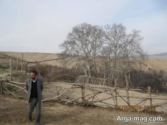 روستای تاریخی در گنبد کاووس