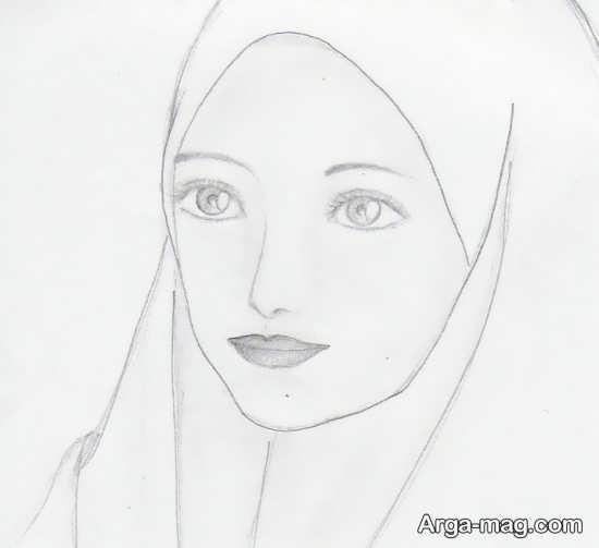 نمونه نقاشی در مورد حجاب