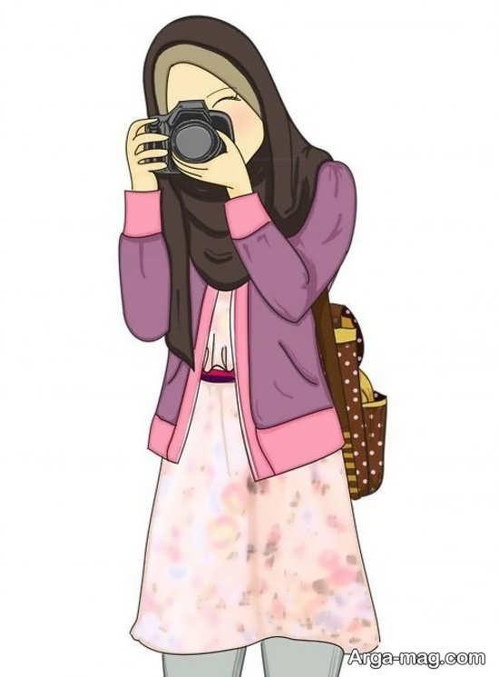 نقاشی خاص در مورد حجاب