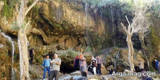 آبشار زیبای جلفا
