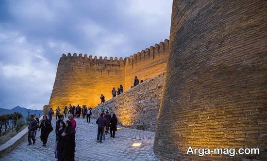 دژ تاریخی خرم آباد