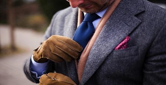 دستکش چرمی مردانه