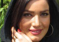 خانم بازیگر در کنسرت امید حاجیلی