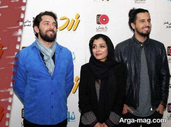 مهرداد صدیقیان در کنار بازیگران معروف