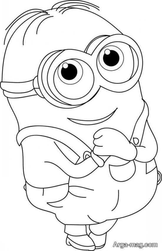 نقاشی مینیونی برای بچه ها