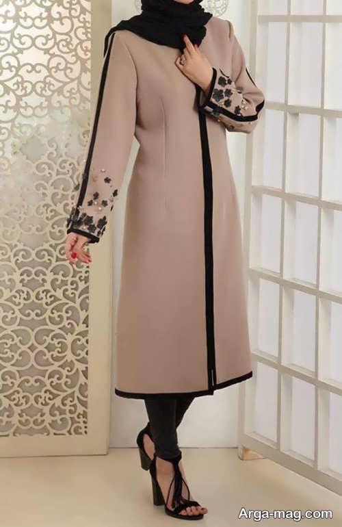 مانتو های شیک زیبا در اصفهان مدل مانتو مجلسی دخترانه بلند با طرح های بسیار زیبا
