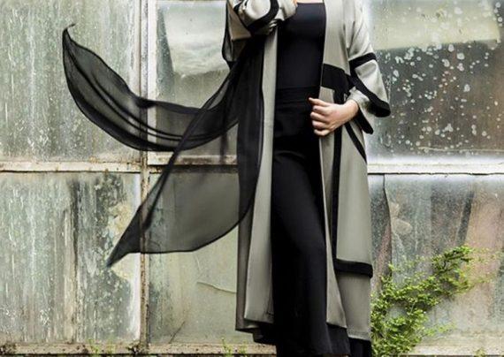 مدل مانتو مجلسی دخترانه بلند