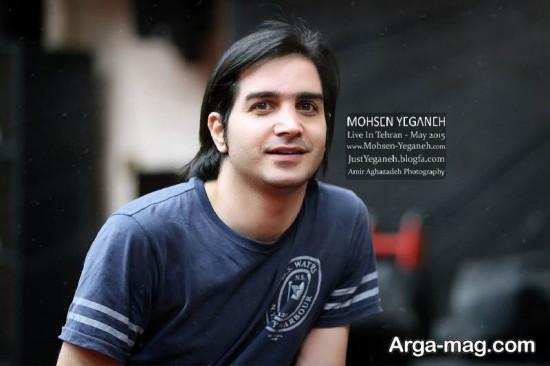 عکس های محسن یگانه در کنسرت هایش