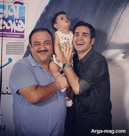 عکس های قدیمی و جدید محسن یگانه
