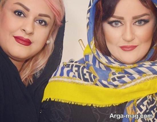 شباهت نعیمه نظام دوست و خواهرش