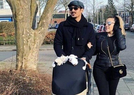 عاشقانه رضا قوچان نژاد و همسرش