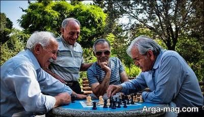 برنامه پر کردن اوقات فراغت در سالمند