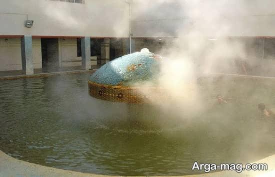 چشمه آبگرم سمنان