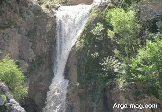 آبشار زیبا سمنان