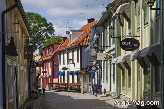 کلبه های سنتی سوئد
