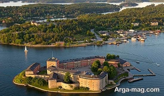 جاذبه های زیبای سوئد