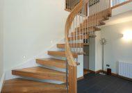 مدل راه پله چوبی
