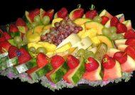 تزیین سالاد میوه