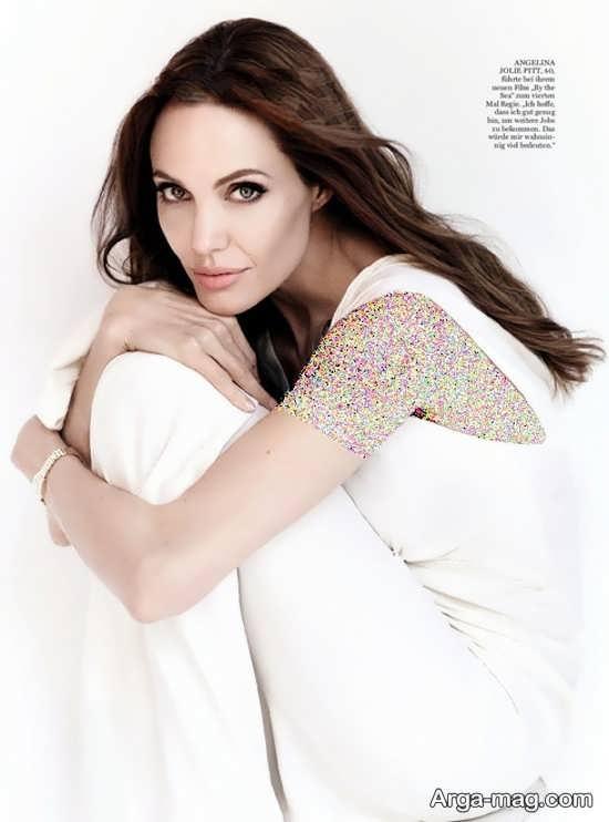 آنجلینا جولی با ژست های زیبا و خاص