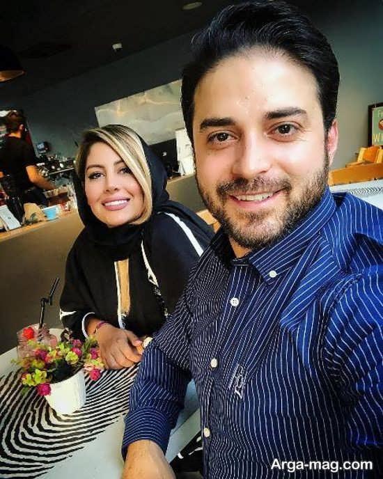 عکس های شیک بابک جهانبخش و همسرش