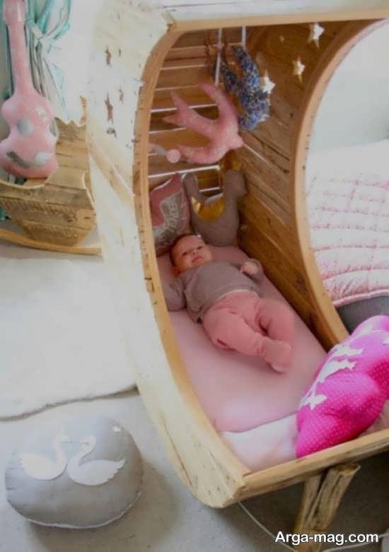 مدل تخت خواب جالب نوزاد