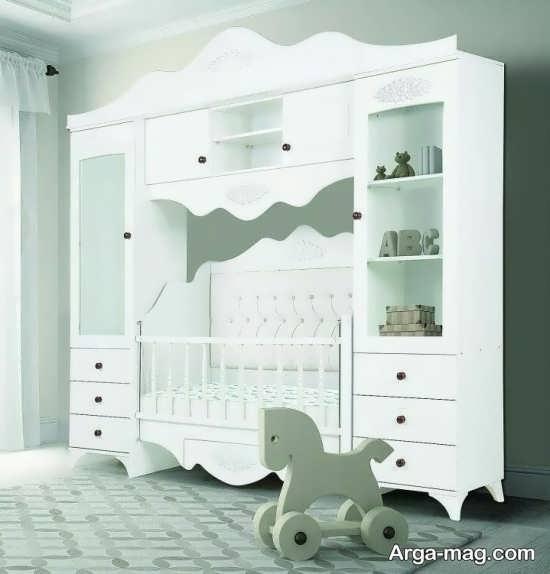 مدل تخت خواب جدید نوزاد