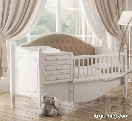 مدل جدید و متفاوت تخت خواب نوزاد