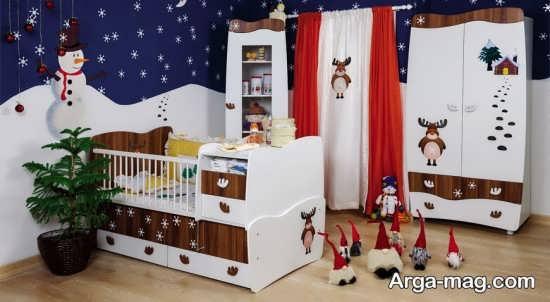 مدل تخت و کمد نوزاد