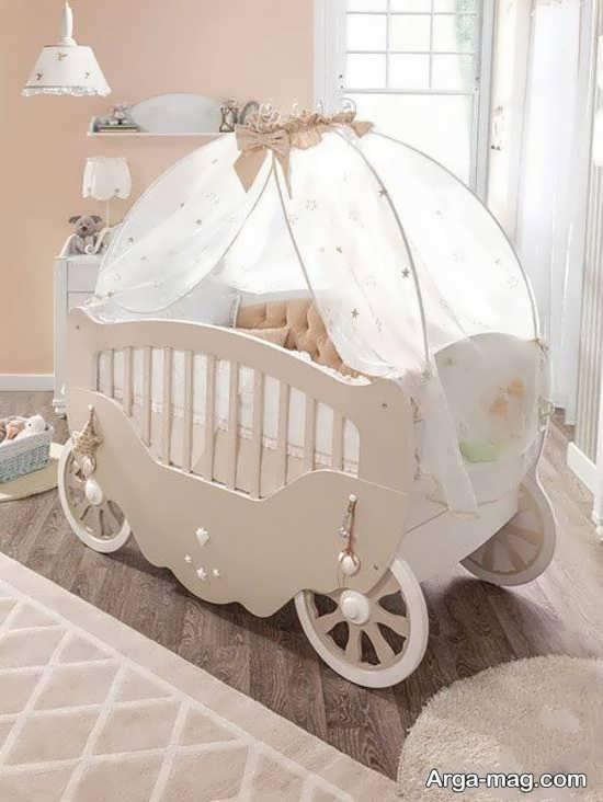 مدل مدرن تخت خواب نوزاد