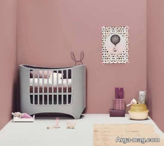مدل دیدنی تخت خواب نوزاد