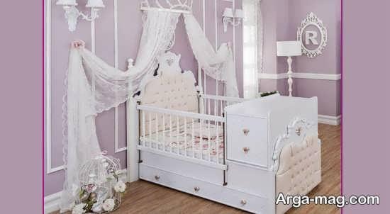 مدل تخت خواب زیبای کودک