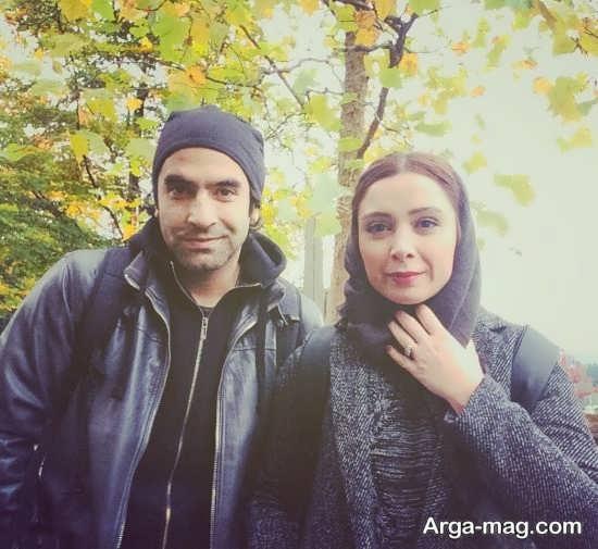 عکس های فرناز رهنما و همسرش