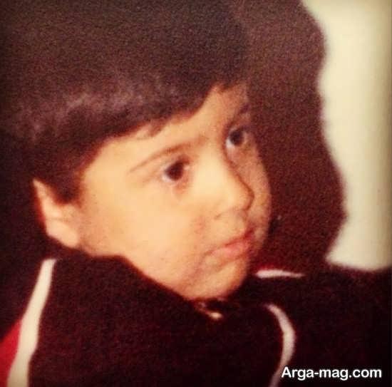 عکسی از دوران کودکی محسن چاوشی