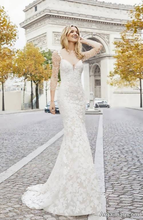 مدل لباس عروس گیپور