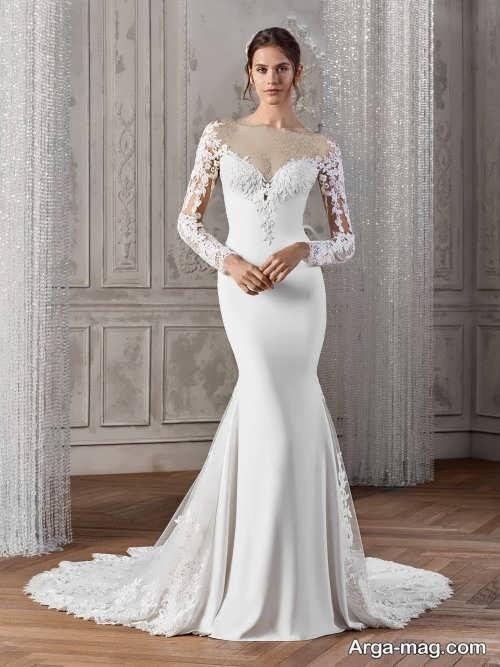 لباس عروس پوشیده 2019