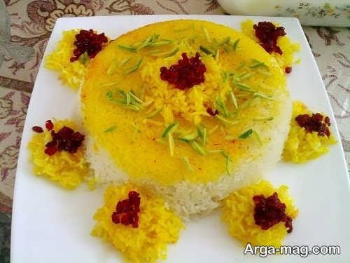 تزیین برنج عروسی